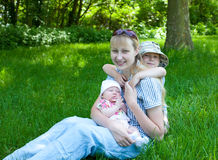 Young Mother Stock Photography