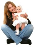 Young  mother with baby girl Royalty Free Stock Photography