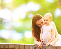 Young mother and baby Royalty Free Stock Image