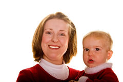 Young Mother and Child Stock Photography