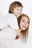 Young mother with a child Royalty Free Stock Images