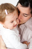 Young mother consoling her baby girl Royalty Free Stock Images