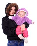 Young mother with cute baby. Stock Photography