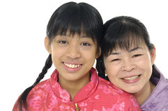 Young mother and daughter Royalty Free Stock Photo