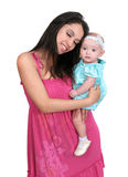 Young mother and daughter Royalty Free Stock Image