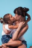 Young mother with daughter Royalty Free Stock Image