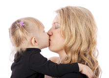 Young Mother and daugther Stock Images