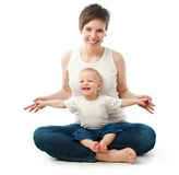Young mother with her child Royalty Free Stock Photo