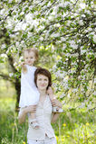 Young mother and her daughter Royalty Free Stock Photo
