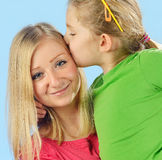 Young mother and her daughter. Royalty Free Stock Photography