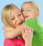 Young mother and her daughter. Stock Photography