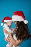 Young mother with her sweet baby Royalty Free Stock Images