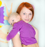 Single parent mother Stock Photography