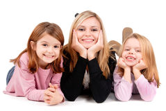 Young mother Royalty Free Stock Photo