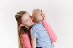 Young mother regrets her child Stock Images