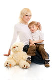 Young mother and son. Stock Image