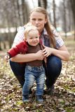 Young mother and son Stock Photography