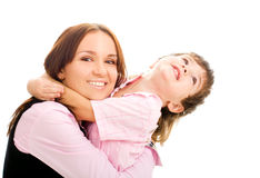Young mother and son Royalty Free Stock Photos