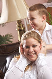 Young Mother and Son Royalty Free Stock Photo