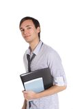 Young motivated student Royalty Free Stock Photos