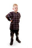 Young motor race boy Royalty Free Stock Photo