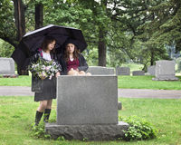 Young Mourners Royalty Free Stock Images