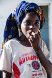 Young Mozambican Girl Stock Photography