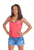 Young mulatto girl Royalty Free Stock Photography