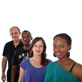 Young multiracial group Royalty Free Stock Photography