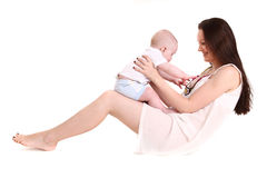Young mum Stock Images