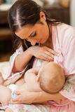 Young mum and baby. Stock Photography