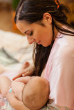 Young mum and baby. Stock Photos