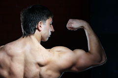Young muscular man Royalty Free Stock Images