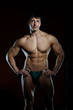 Young muscular man Stock Images