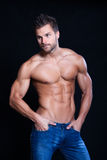 Young muscular man Stock Photo