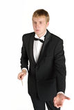 Young music conductor Royalty Free Stock Photo