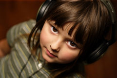 Young music lover stock photos