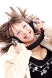 Young music lover Royalty Free Stock Image