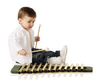 Young Music Maker Stock Images