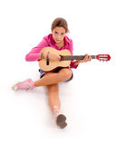 Young musician Stock Image