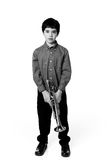Young Musician  Royalty Free Stock Photography
