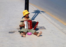 Young musician Royalty Free Stock Image