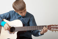 Young musician Stock Photos