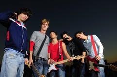 Young musicians Stock Photos