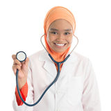 Young Muslim female doctor Royalty Free Stock Image