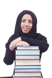Young muslim female student Stock Images