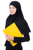 Young muslim female student Royalty Free Stock Photo