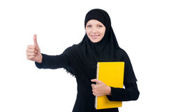 Young muslim female Stock Images