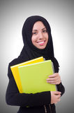 Young muslim female student Royalty Free Stock Photography