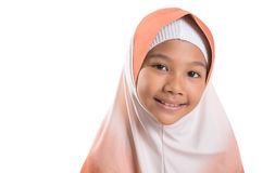 Young Muslim Girl With Hijab I Stock Photo